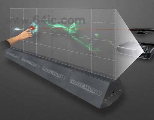开源的充满未来科幻风格的蒸汽交互屏幕