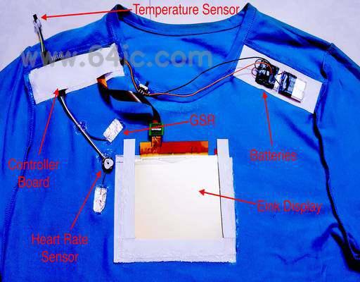 电子t恤:如何制作一件充满感觉的衬衫。