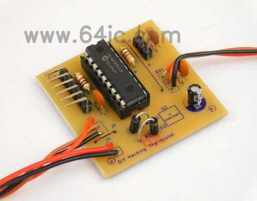 如何制作无线恒温器?