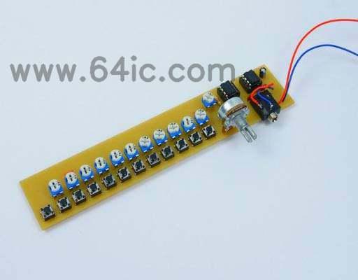 如何制作555合成器电路(Atari