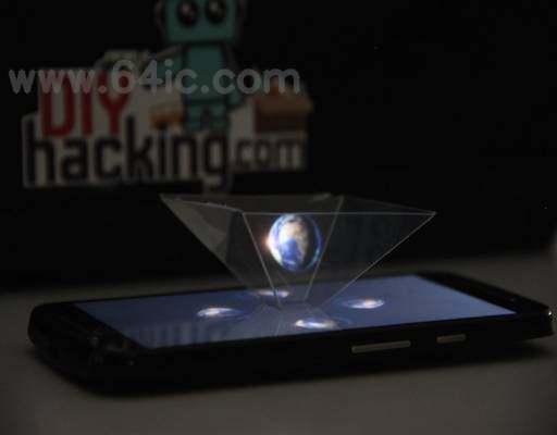 如何为你的智能手机制作一个3D全息图金字塔?