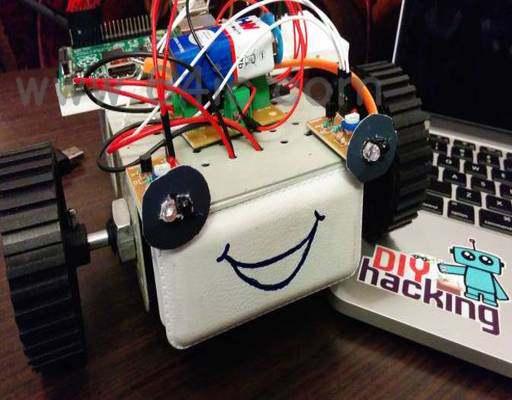 如何使用树莓派来制作初学者机器人?