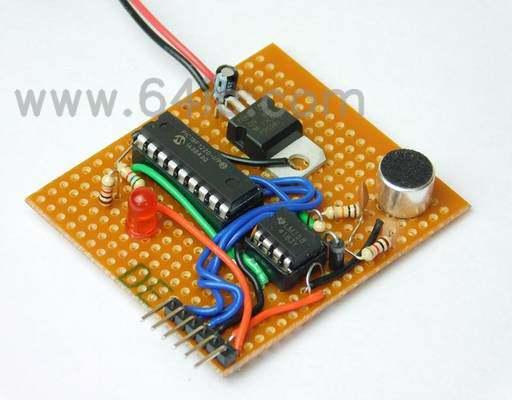 如何用电子麦克风和PIC18F1220制造昆虫探测器?