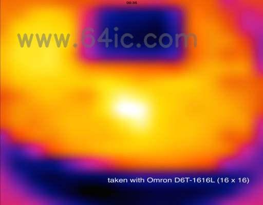 diy 廉价的热成像仪。