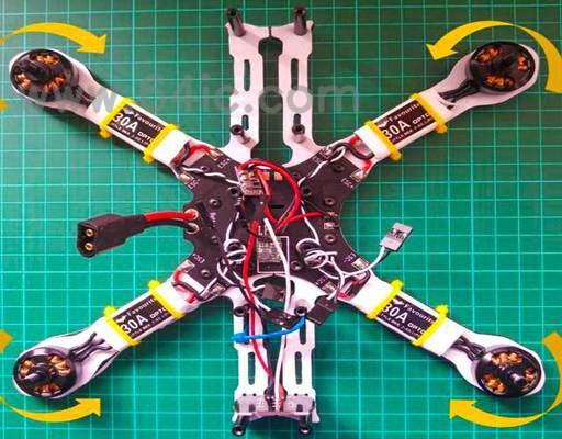 DIY无人机:如何构建一个四轴飞行器,第2部分。