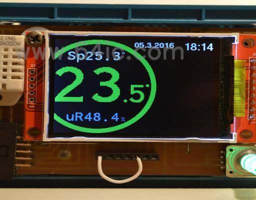 基于ESP8266智能温控器