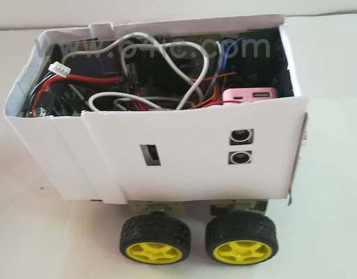 如何用树莓派做一个避障机器人?