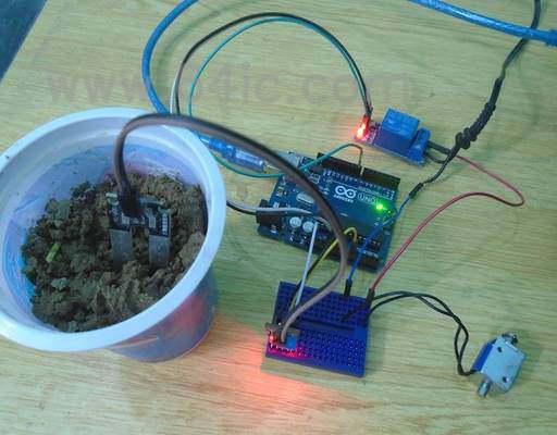 如何用Arduino和FC-28湿度传感器测试土壤?
