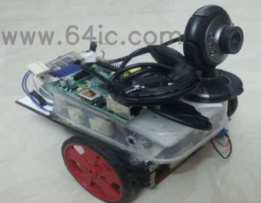 如何建立树莓派网络摄像头机器人?