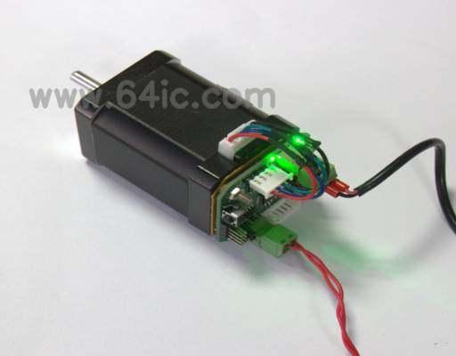 基于步进电机和CAN总线的智能机器人控制系统的一部分