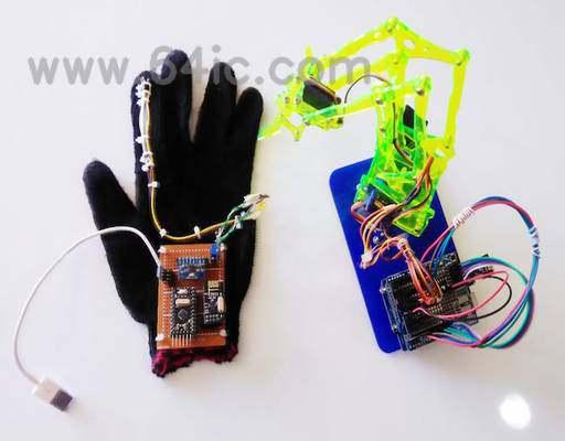 如何与Arduino建立手控机器人手臂?