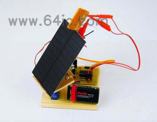 如何制作太阳能电池板跟踪系统?