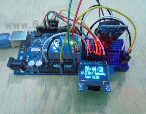 如何用实时时钟制作Arduino