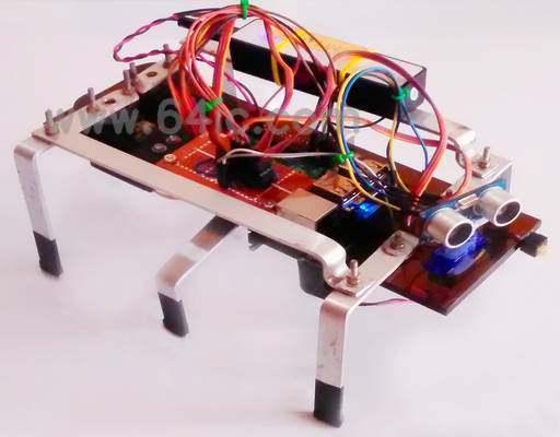 如何用树莓派制作一个六足行走机器人?