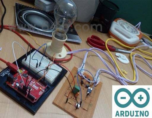 如何制造一盏arduino供电的灯光调光器?