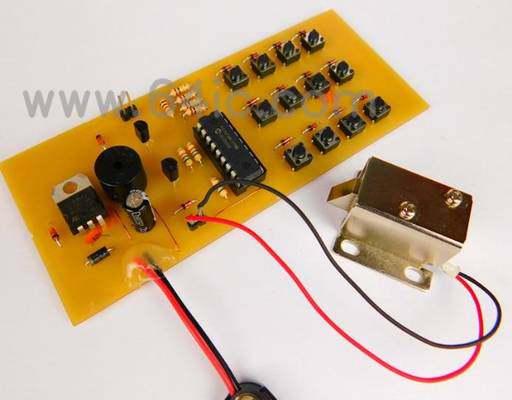 如何用PIC16单片机和螺线管来制作键盘输入系统?