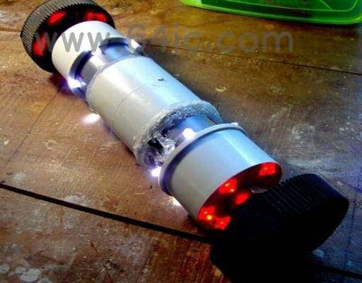 如何用Arduino构建智能手机控制的管道机器人?