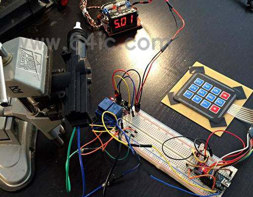 如何用微线性驱动器制作Arduino小键盘门锁?